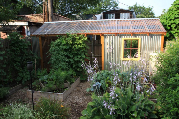 industrial garden shed design