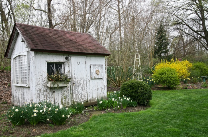 Rustic Garden Shed Design