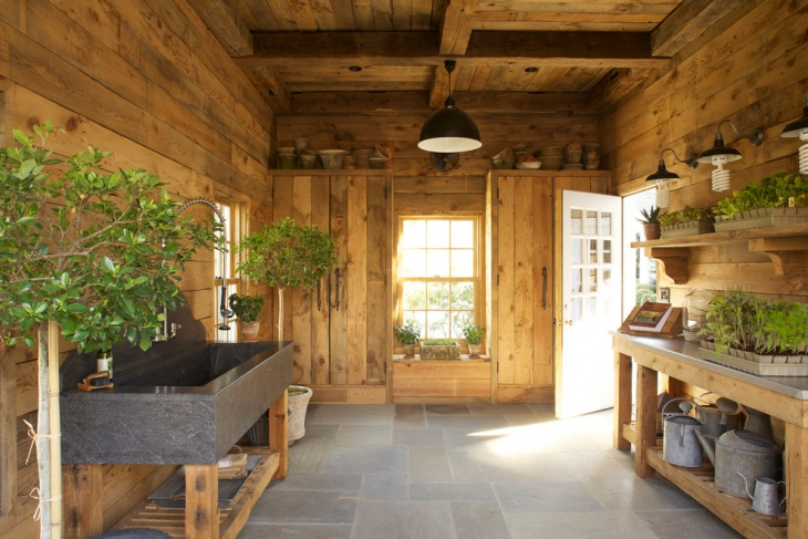 potting shed interior design