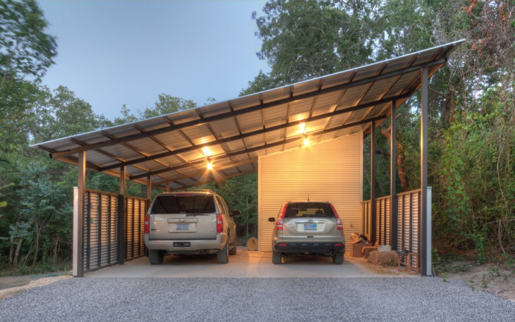 industrial car shed design