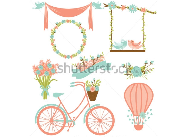 Wedding Clipart Elements