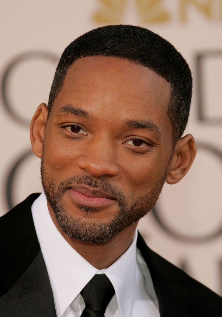 Will Smith Bald Taper Fade Haircut