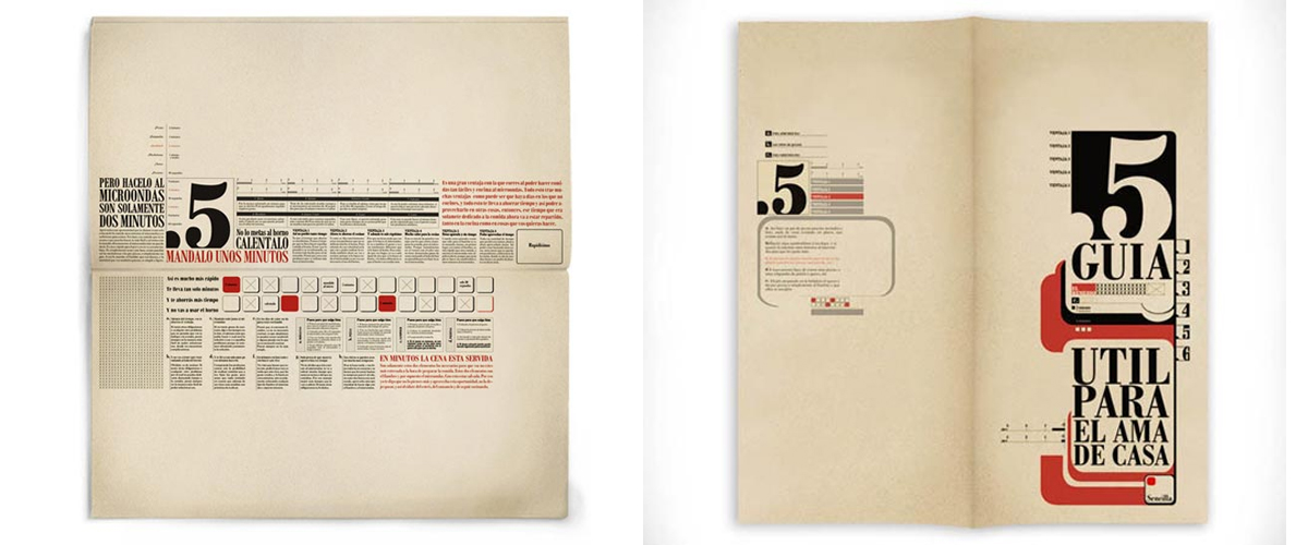 Typographical Brochure