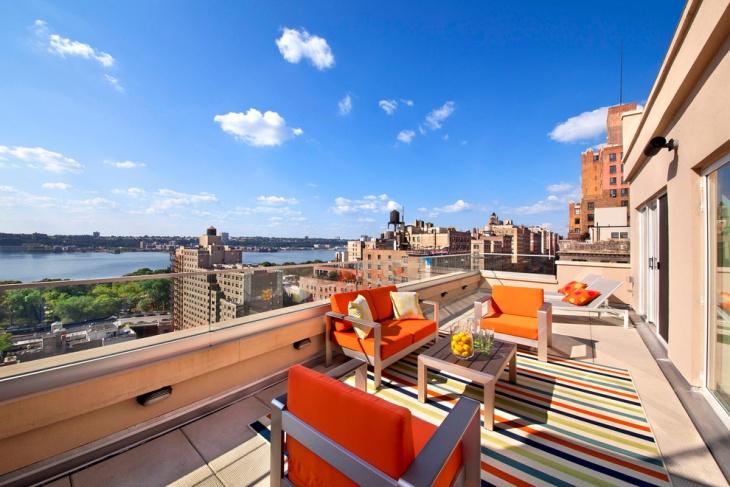 Modern Penthouse Terrace Design