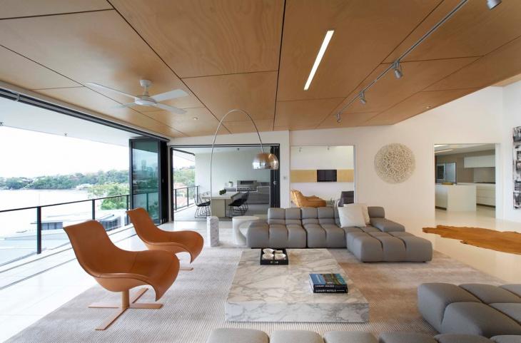 Luxurious Penthouse Sofa Design
