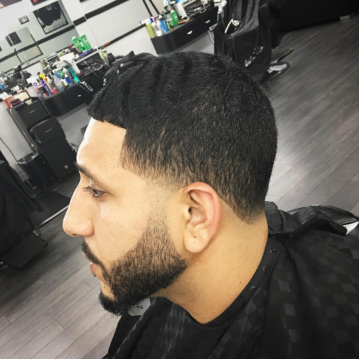 Drop Fade Waves Haircut With Part 93