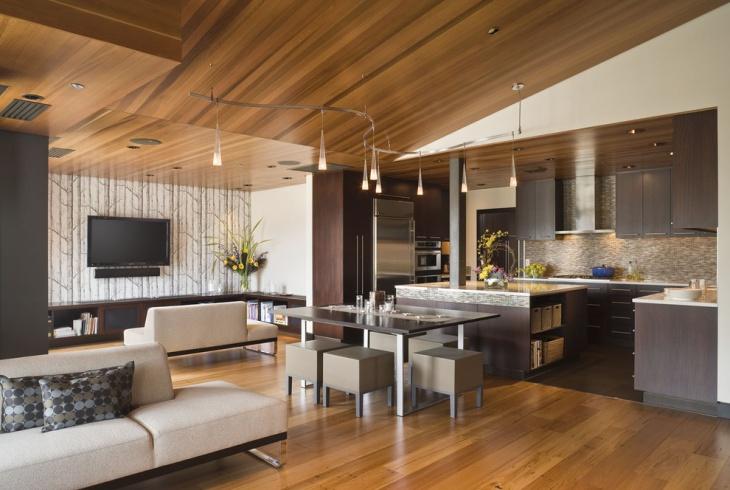 Contemporary Penthouse Lighting Design