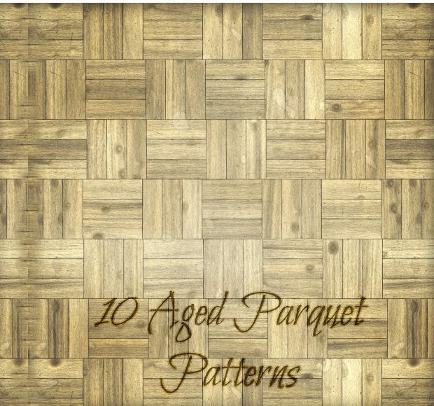Aged Parquet Pattern Design