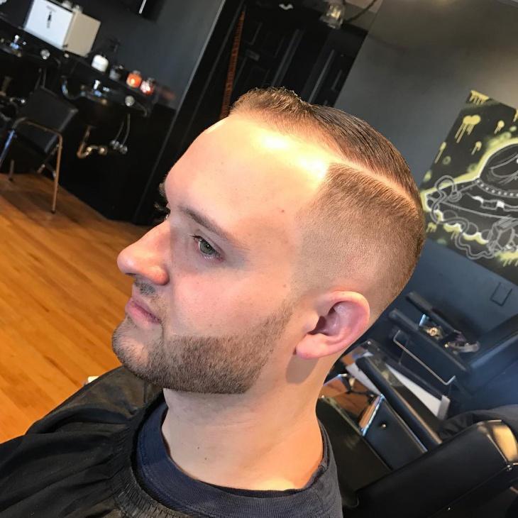 Military Skin Fade Haircut