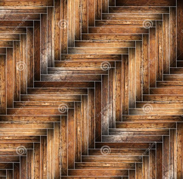 Grunge Parquet Pattern