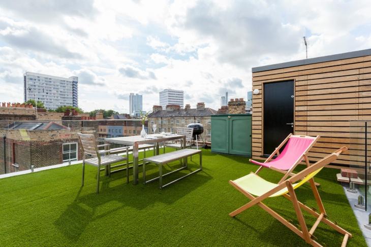 Apartment Pethouse Terrace Design
