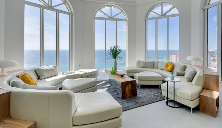 Modern Penthouse Sofa Design
