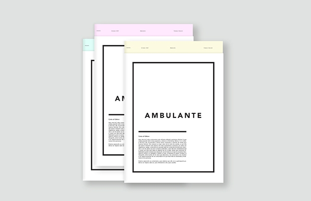ambulante newsletter mockup