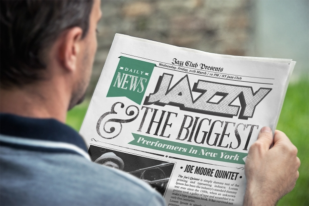best newspaper mockup