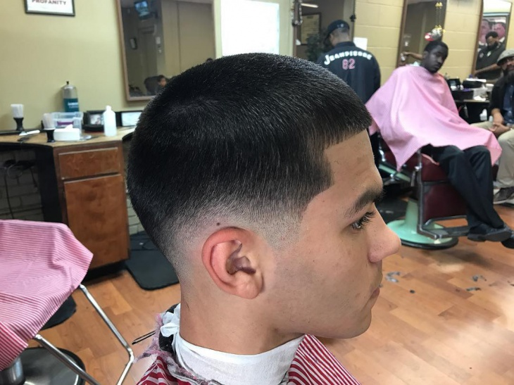 Retro Low Fade Haircut