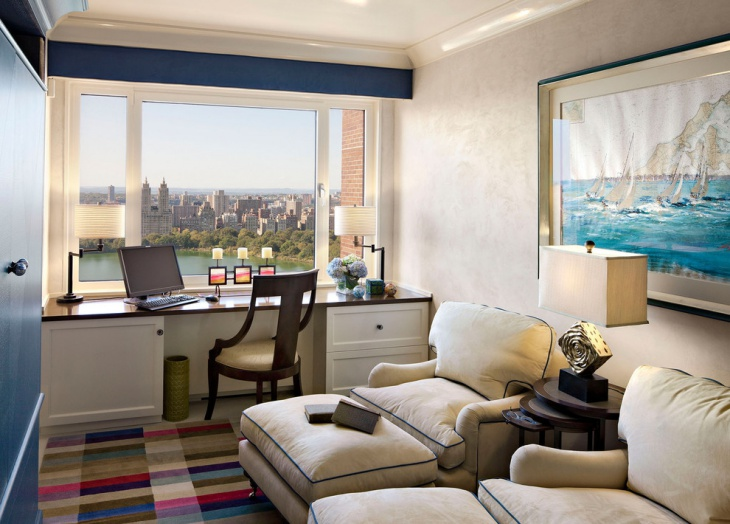 penthouse home office design