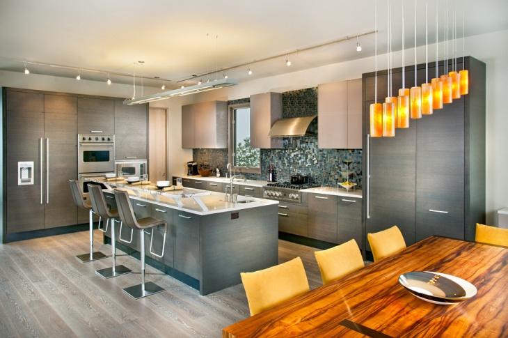 Luxurious Penthouse Kitchen Design