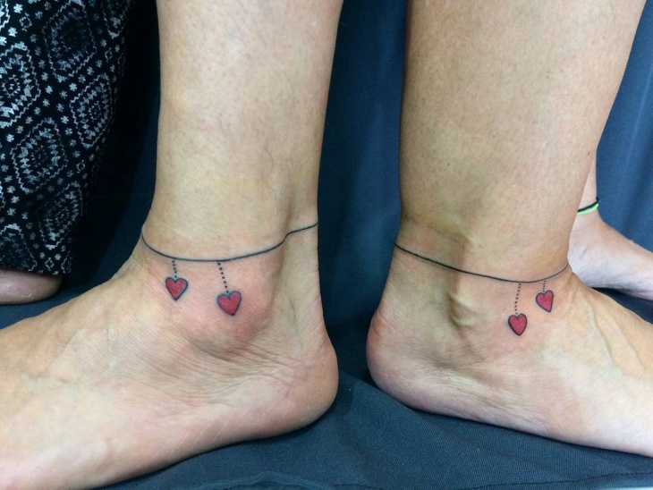 Matching Small Couple Tattoo
