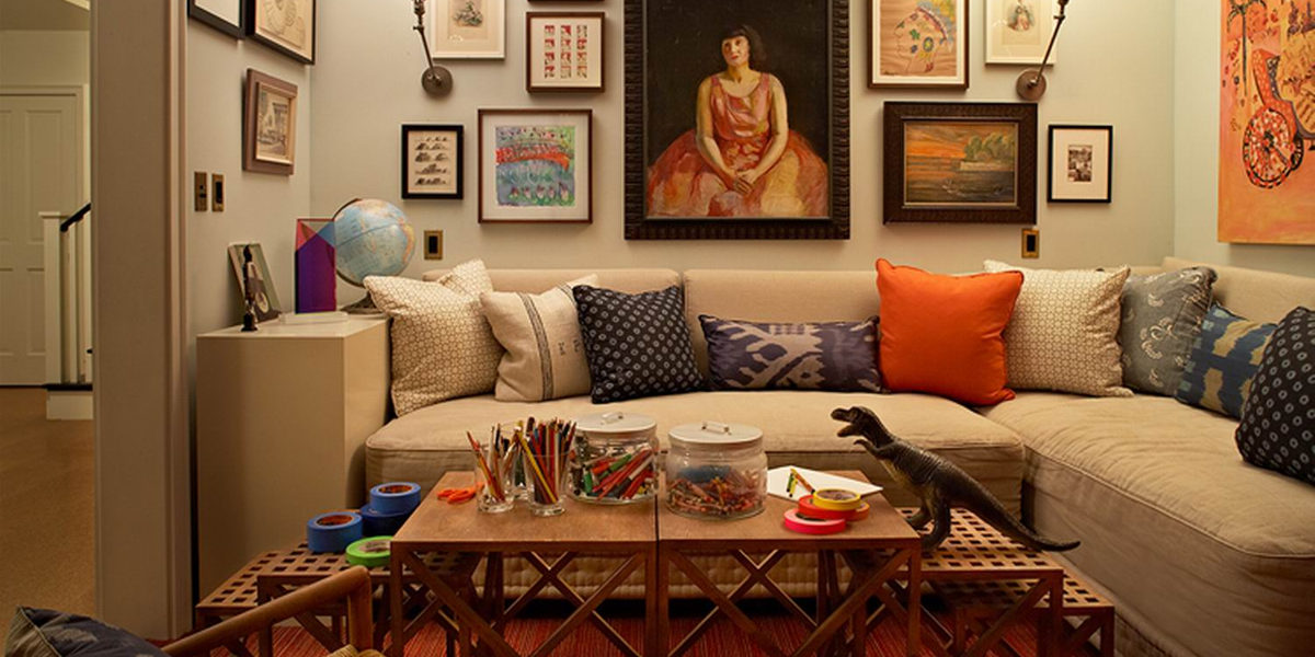 10 Eclectic Living Room Designs | Design Trends - Premium ...