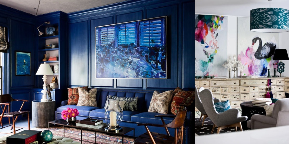 Couture Eclectic Living Room