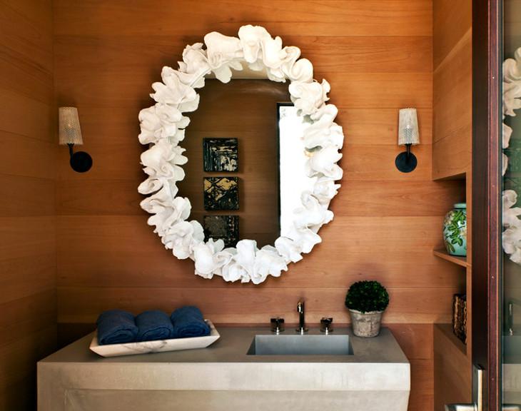 diy vanity mirror design