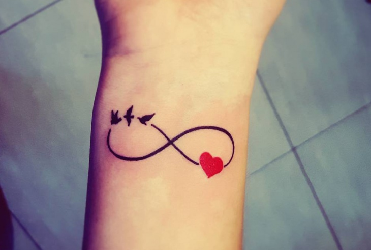 Small Infinity Tattoo Ideas Pictures To Pin On Pinterest