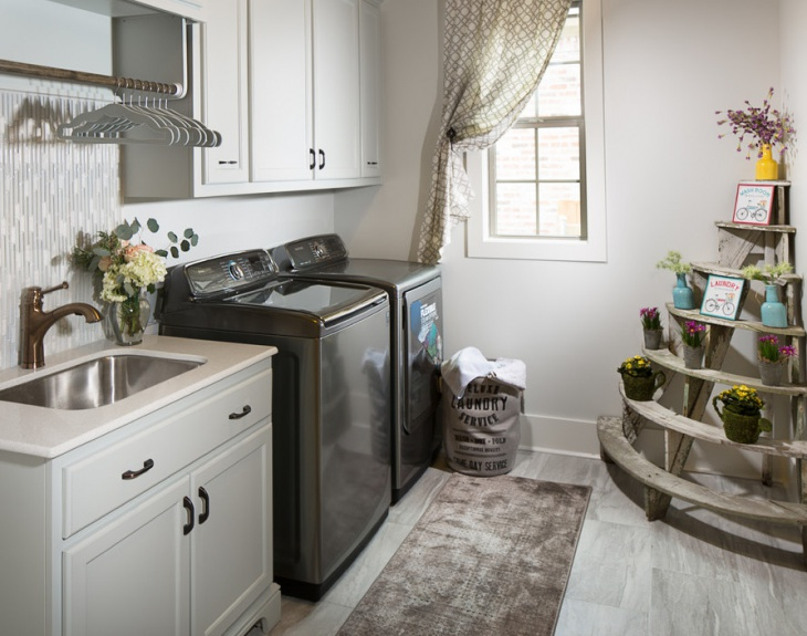 Laundry Room Vanity Sink Design