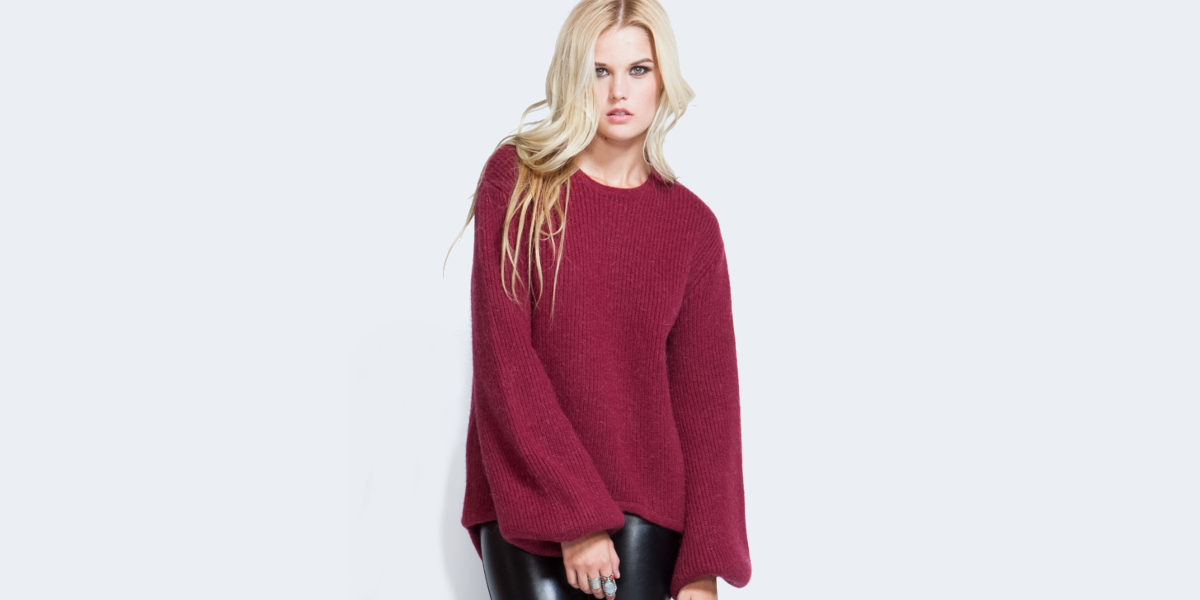 belled sleeve pullover1