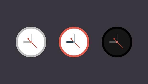 free clock icons