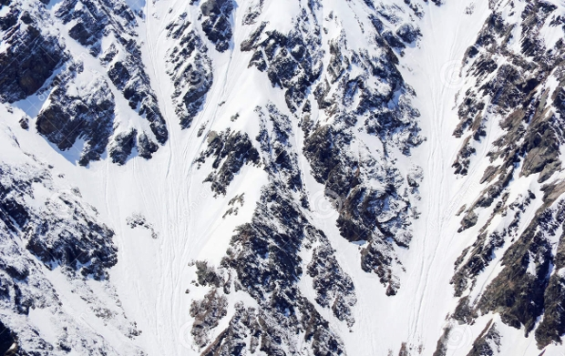 snow mountain texture