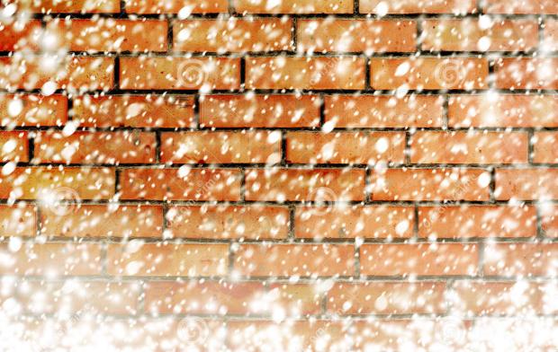 snow brick texture