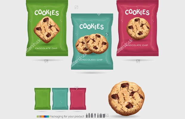 high quality cookie packaging design