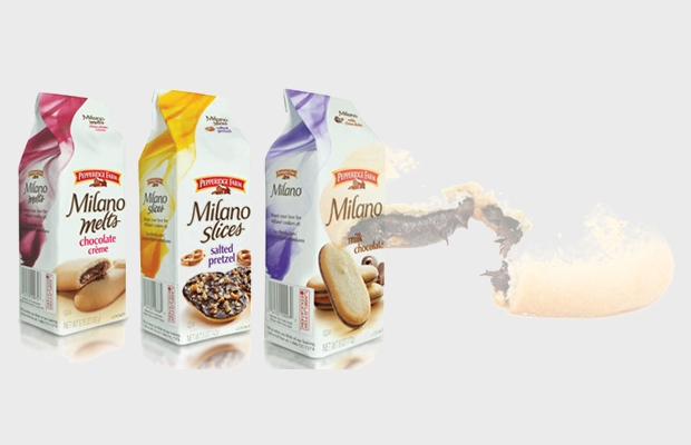 snack cookie packaging design