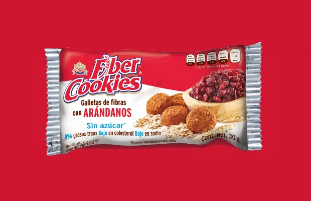 fiber cookie packaging