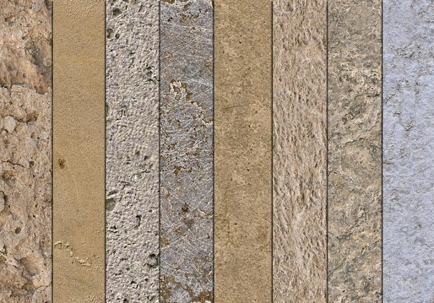 Seamless Mixed Stone Texture Design