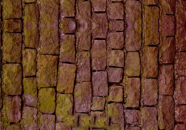 realistic stone wall texture