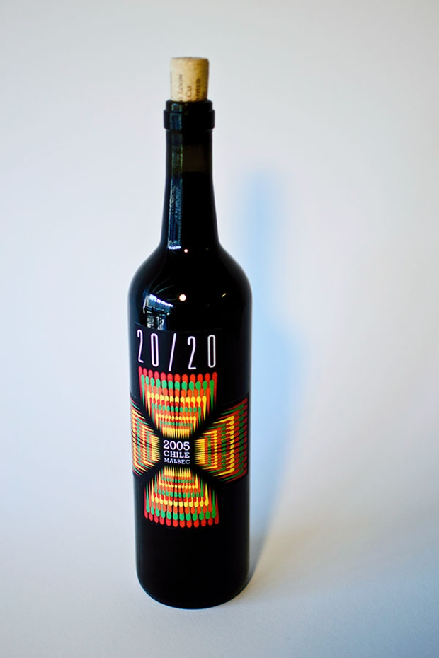 Modern Wine Label Design