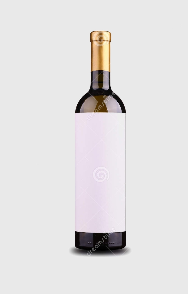 Blank Wine Label