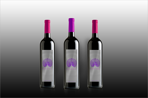 diy wine label design
