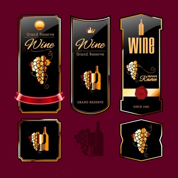 Elegant Wine Label Design