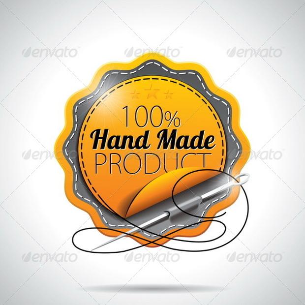 Handmade Product Label Design