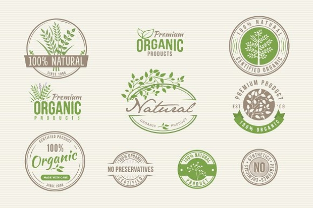Natural Organic Product Label