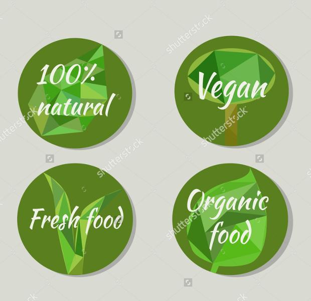 Vegetarian Product Label