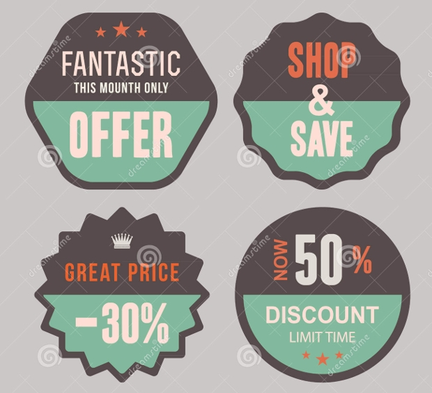 Discount Product Label