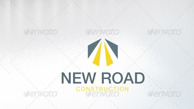 Road Construction Logo Design