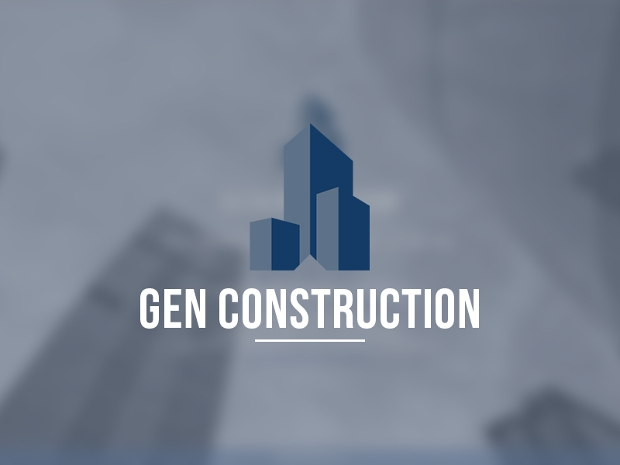 Gen Construction Logo Design