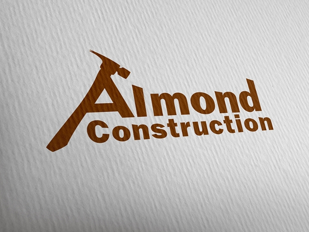 Almond Construction Logo