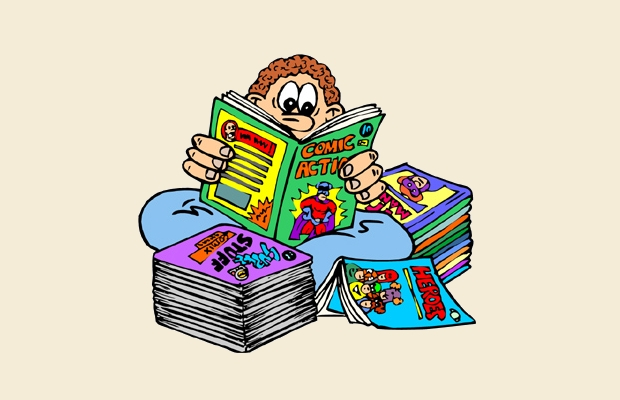 comic book clipart