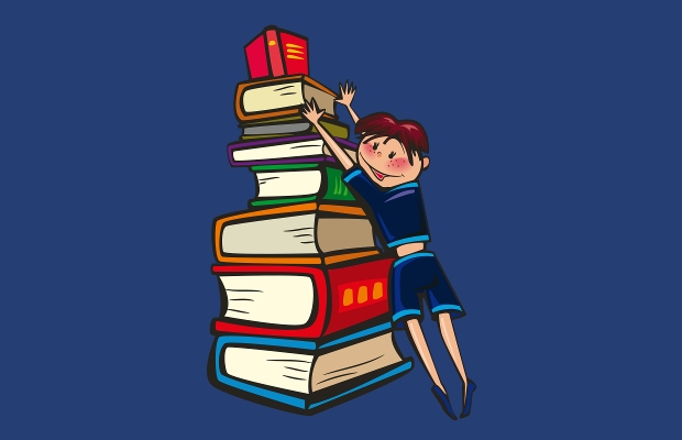 stack of books clipart