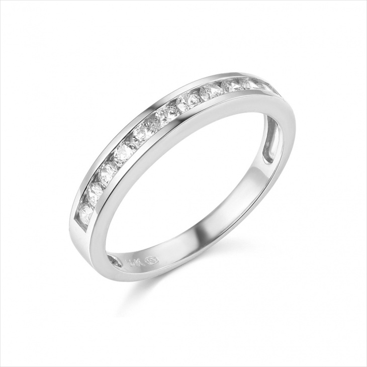 white gold wedding ring design